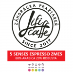 5 Senses espresso Káva 1KG