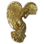 Anjelik na zárubňu – zlatá farba