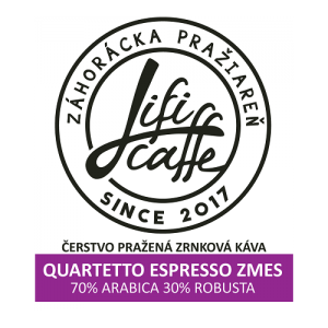Quartetto espresso Káva 250g